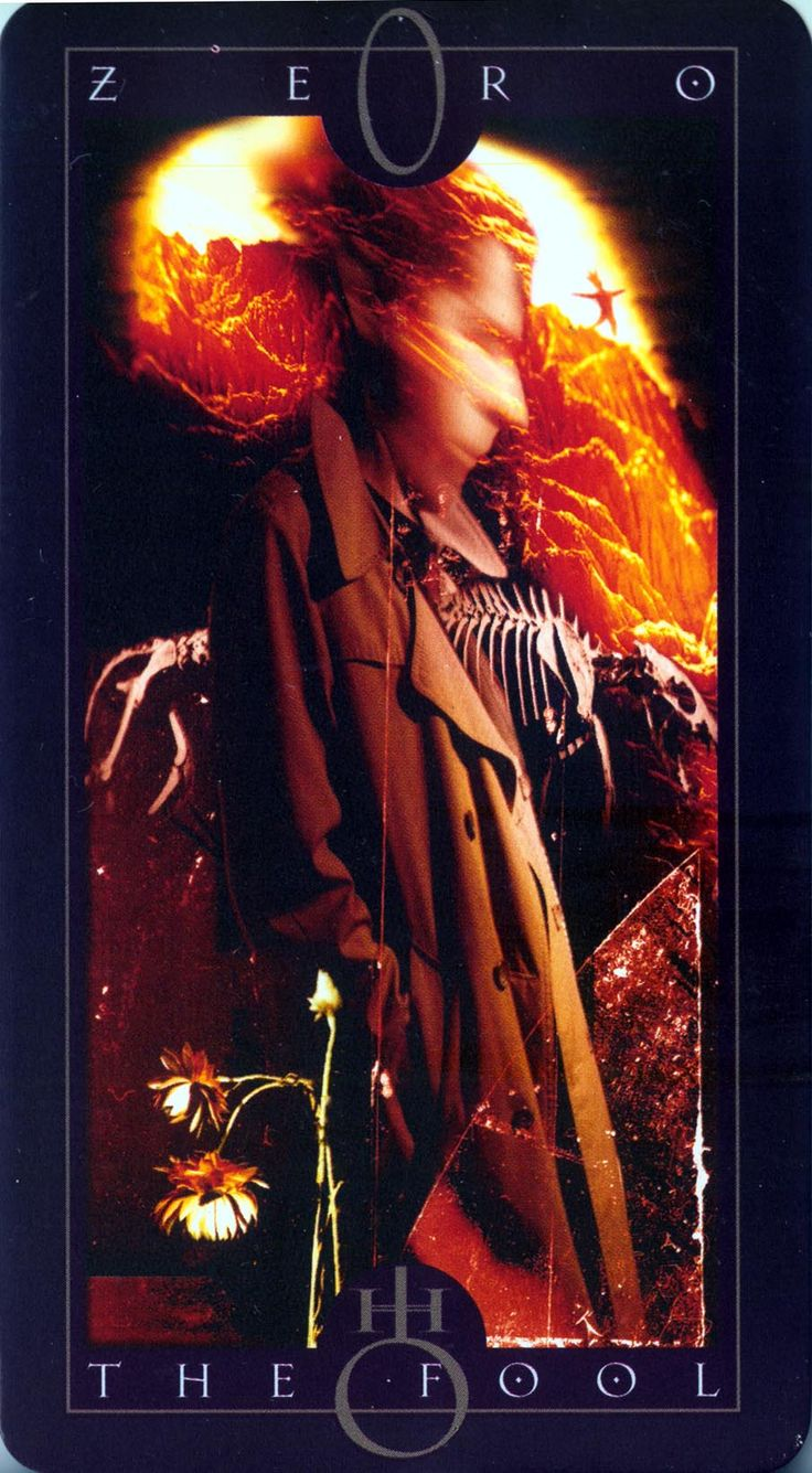 The Vertigo Tarot Deck (Concept) The Fool - Artist: Dave McKean.