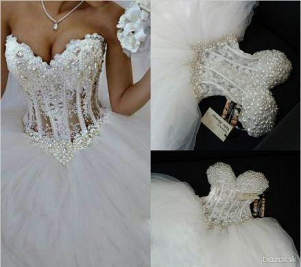 Svadobné šaty šité na zákazku
