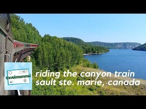 Agawa Canyon Tour Train | Sault Ste. Marie Ontario, Canada - YouTube