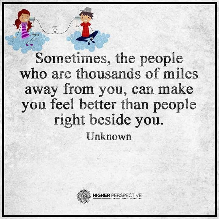 True...and if those people were here, I will be the happiest person in the world!