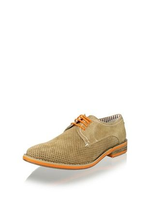 JD Fisk Men's Dolan Oxford (Tan)