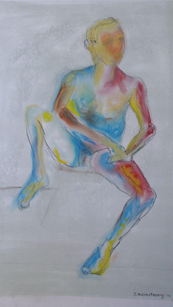 J. Armstrong, @ Pina Bartolo drawing class