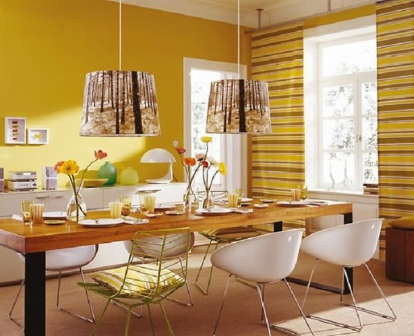 3 Yellow Dining Room