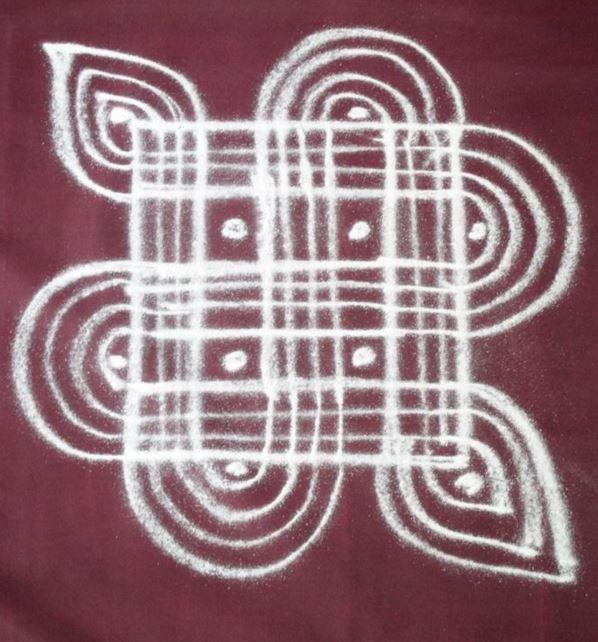 Ugadi Kolam Designs