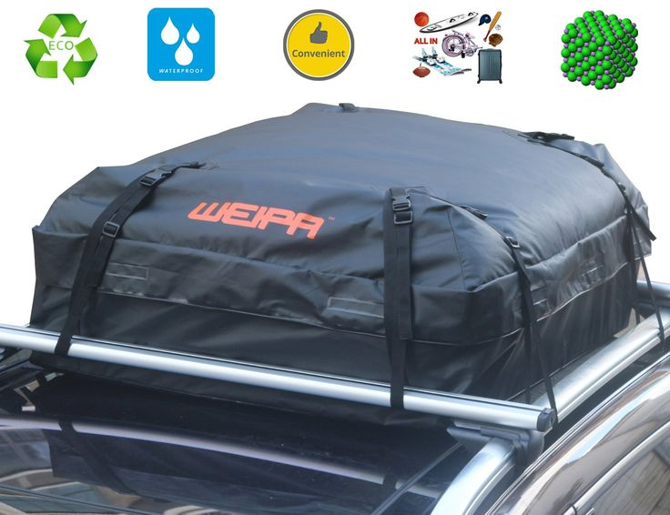 Roof Cargo Bag Rooftop (15.05 Cubic Feet) Waterproof Super Strong And Extra  Waterproof Tarpaulin