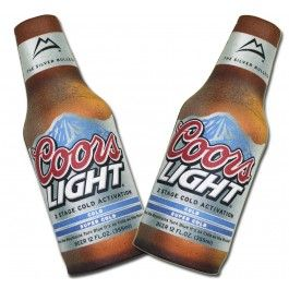 Official Coors Light Imitation Bottle Koozie Set These
