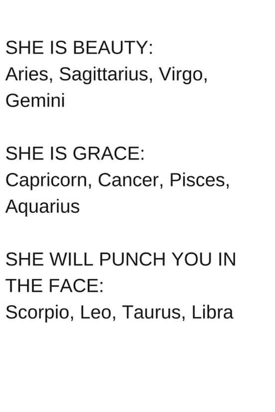 By the zodiac signs                                                                                                                                                                                 More