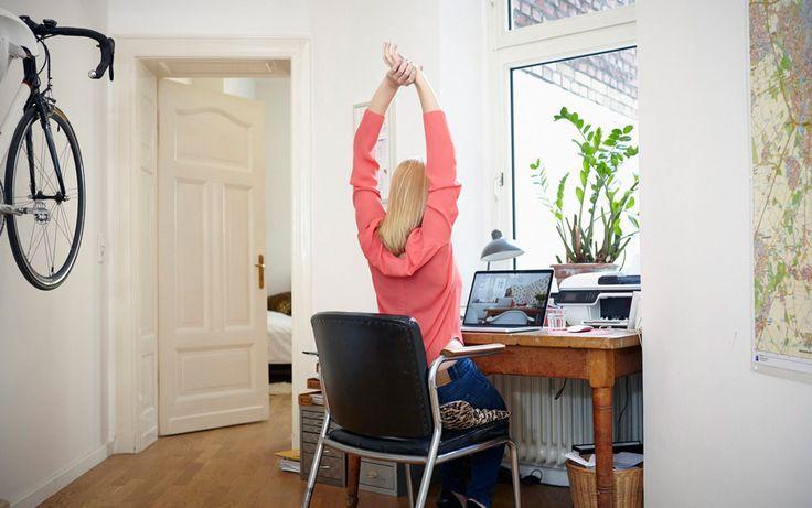 5-Pose Yoga Fix for Desk Dwellers