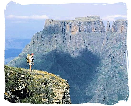 Sentinel Peak, Drakensberg Mountains, South Africa