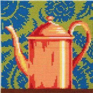 Collection d'Art:5.013 - Pot a The Cuivre  http://www.luciatapestrieswoolcrafts.com.au/buy-online/CUSHION-KITS/Collection-d%27Art-5.013.asp
