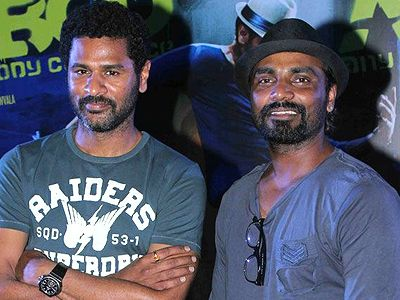 Prabu and Remo together on a TV show!