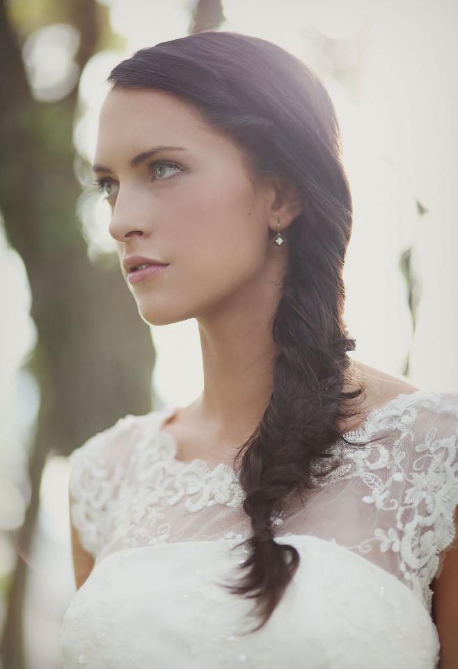 Simple for wedding side braid #hot #sexy #hairstyles #hairstyle #hair #long #short #medium #buns #bun #updo #braids #bang #greek #braided #blond #asian #wedding #style #modern #haircut #bridal #mullet #funky #curly #formal #sedu #bride #beach #celebrity #simple #black #trend #bob #girls