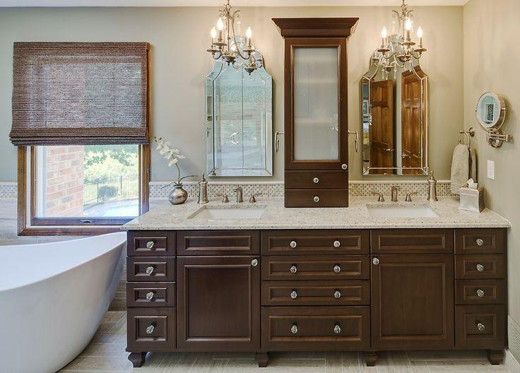 Best Bathroom Decorating Ideas Images On Pinterest Bathroom - Double sink bathroom decorating ideas