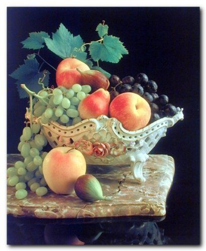 Truly unique. This Fresh fruit art print poster would add some kitsch charm to your walls, perhaps hung above your kitchen table. This poster will make a perfect addition for kitchen, restaurant or for those who love to eat fruits very much. Discover the uniqueness of this poster and order today for its durable quality with excellent color accuracy.