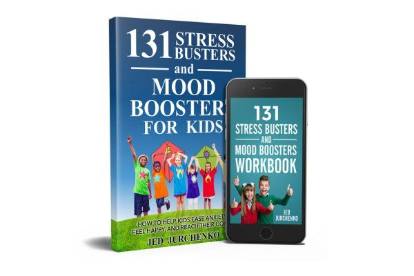 Help your kids bust stress, boost their mood, and achieve their goals. My new book, 131 Stress Busters and Mood Boosters For Kids, will guide you on the journey!