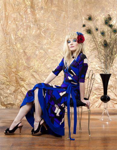 Merideth Wrap Dress