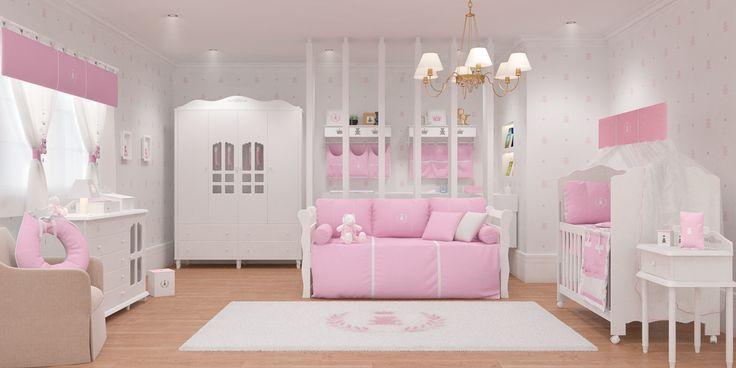 O quarto dos sonhos para a sua princesa