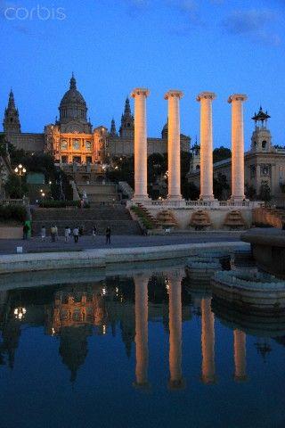 Catalonia, Barcelona, Museu Nacional d'Art de Catalunya