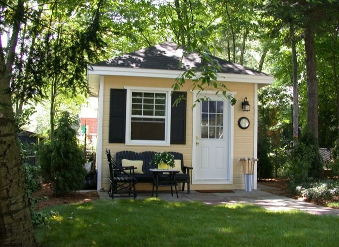 1000 images about guest house shed on pinterest pool for Guest house backyard