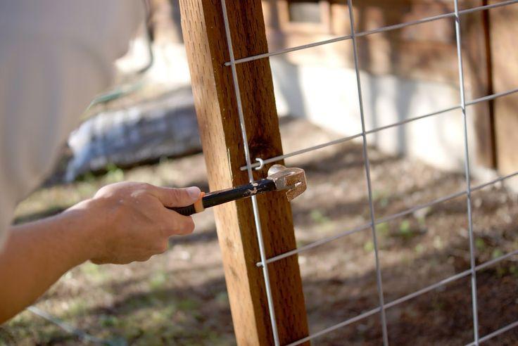 Three Men & One Lady.: {DIY} Front Yard Fence