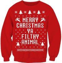 Wish   Red women Hoodies Winter Autumn 3D Sweatshirts Tracksuits O Neck Christmas Sweatshirt Women Casual Pullover