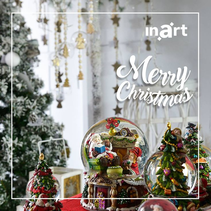 Have a very merry Christmas full of shine and sparkle! #inartXmas