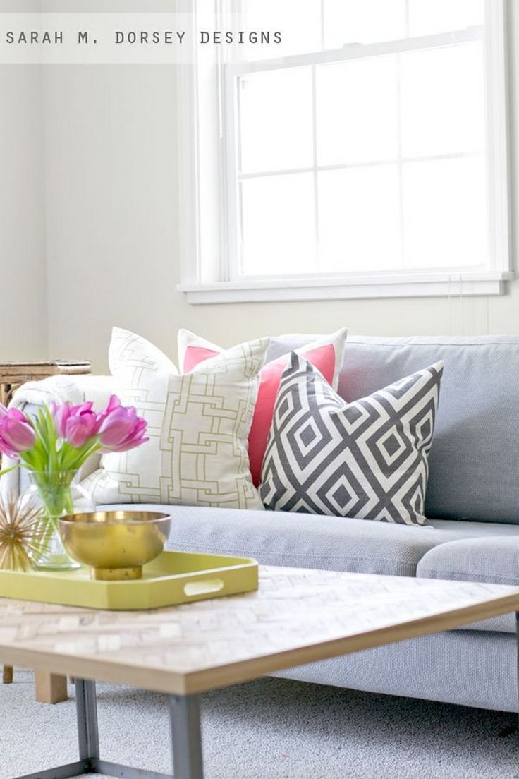 Living Room Pillows Mixing Patterns Ideas78 best Pillows images on Pinterest   Cushions  Diy pillows and  . Pillows Living Room. Home Design Ideas