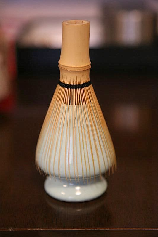Japanese bamboo whisk for tea ceremony