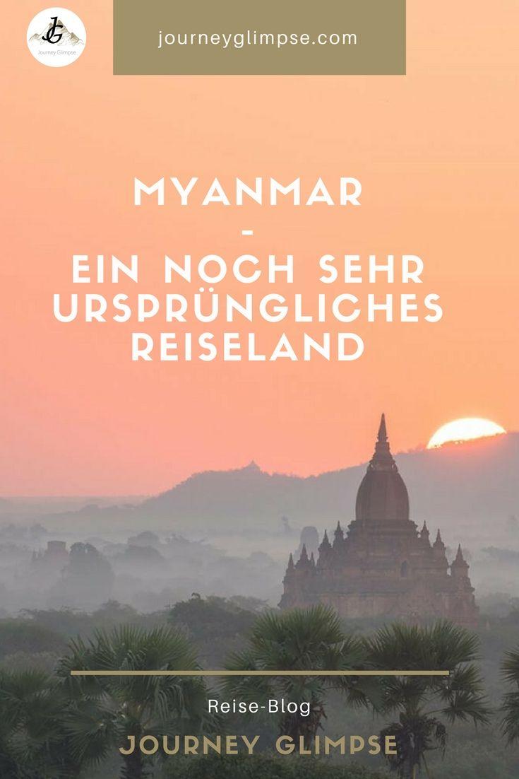 Myanmar ist ein Reiseland, welches noch sehr ursprünglich ist. Dies kann sich aber schnell ändern. Deshalb sollte man Myanmar jetzt bereisen.