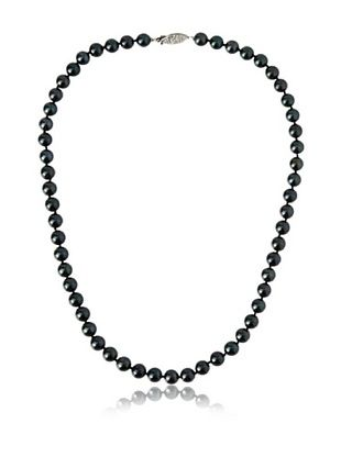 -38,900% OFF Radiance Pearl 14K 7-7.5mm Black Akoya Pearl Strand Necklace