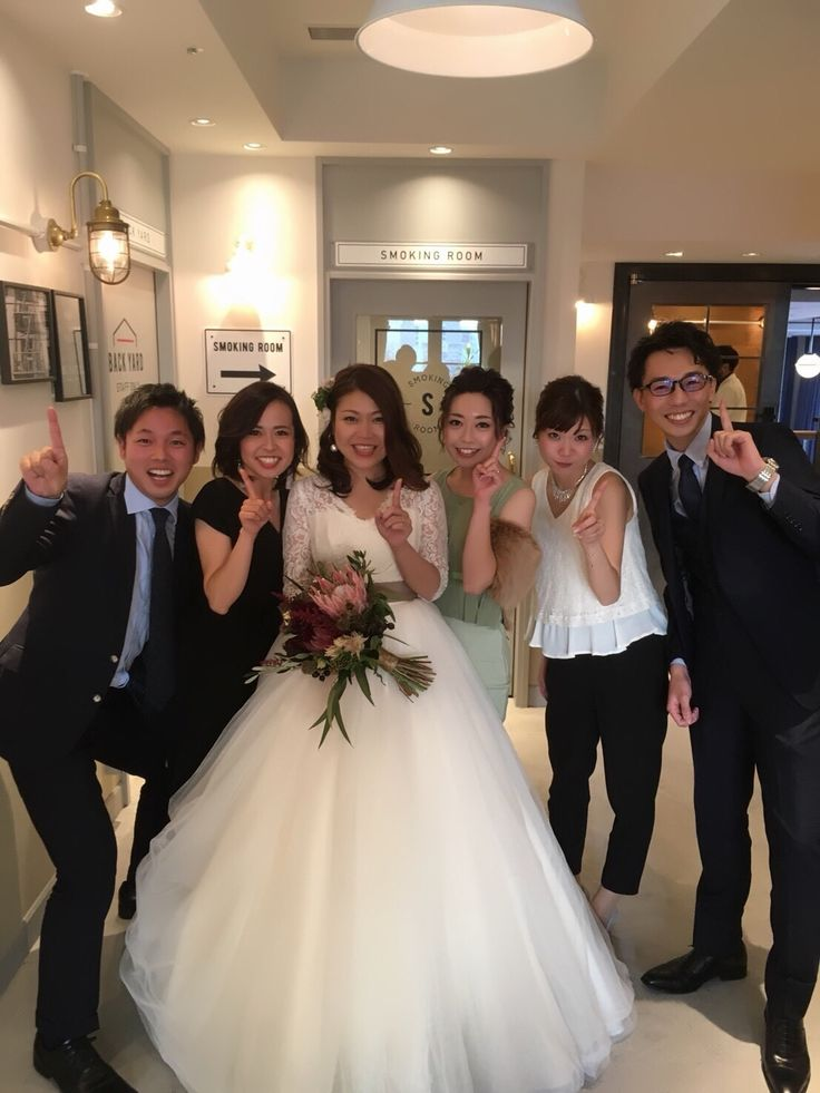 #wedding#中座#大好きな仲間