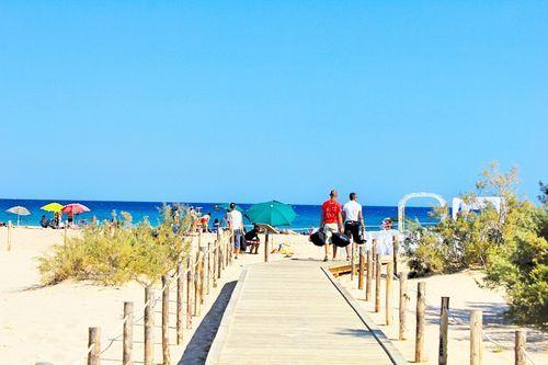 Villasimius Porto Giunco beautiful beach
