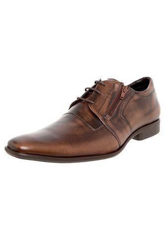 Sapato Social Ferracini Star Marrom