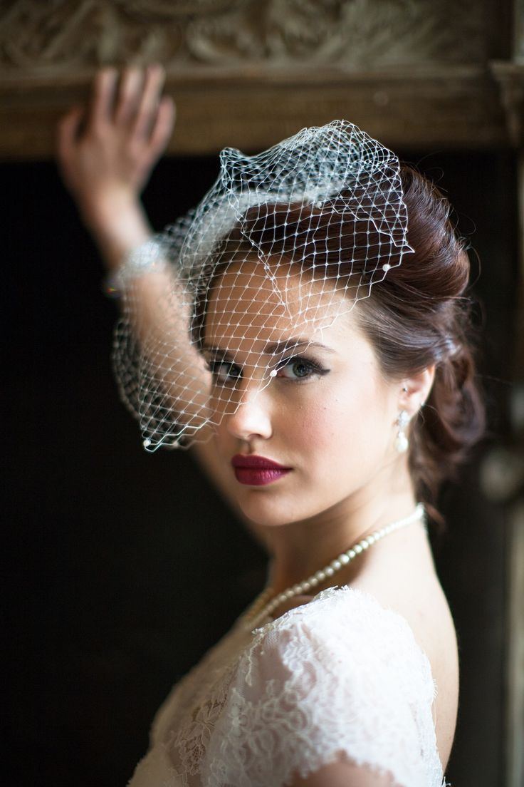 Vintage styling; forties bruiloft - Girls of honour