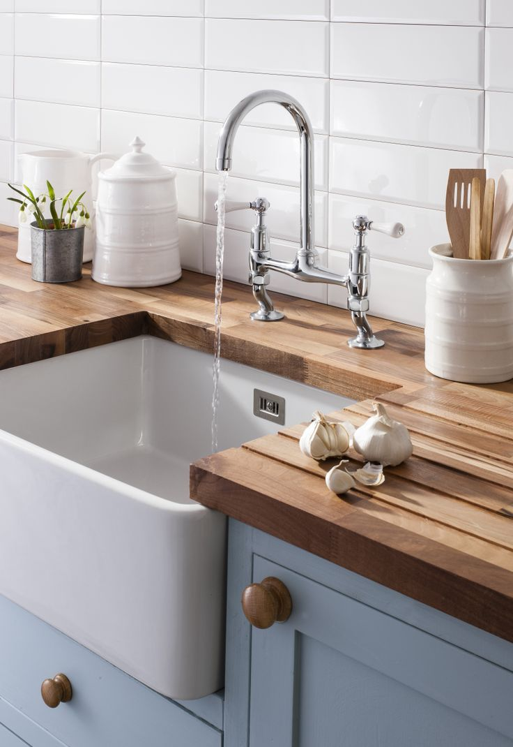 A tap with a timeless design - Cucina Belgravia Lever Dual Lever Kitchen Mixer Tap from Crosswater. http://www.crosswater-cucina.co.uk/category/belgravia/