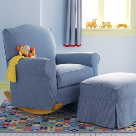 ... ottoman for nursery  Baby Luka  Pinterest  Rocking Chairs, Ottomans