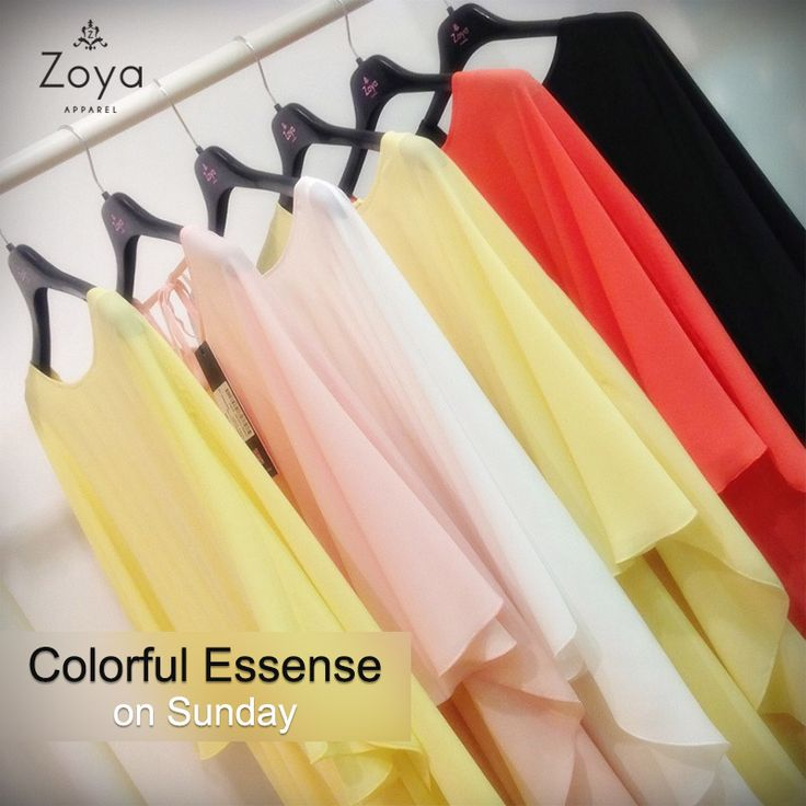 Stylish colors from #Zoya !  #fashion #SS2015 #SS15 #style #colors #collection