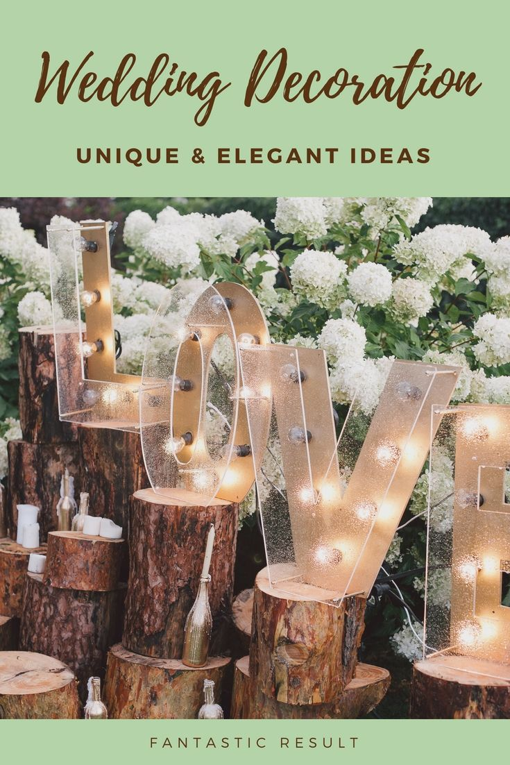 Wedding decoration designs  Dress Up Your Entire Wedding Event Decor With One Of These Nice