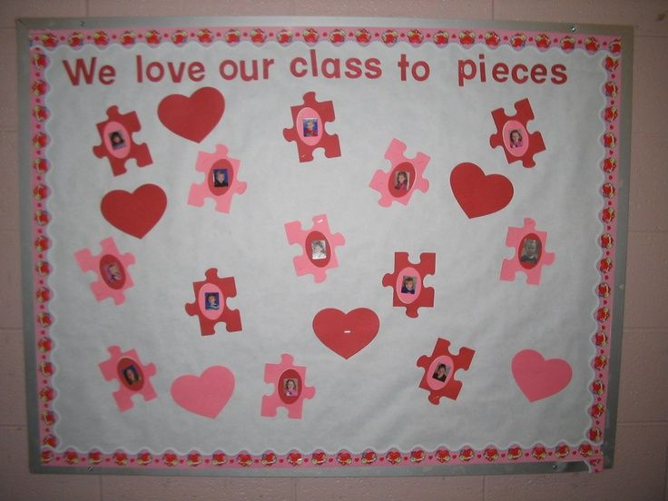 Pre K Bulletin Boards For February February Bulletin Board
