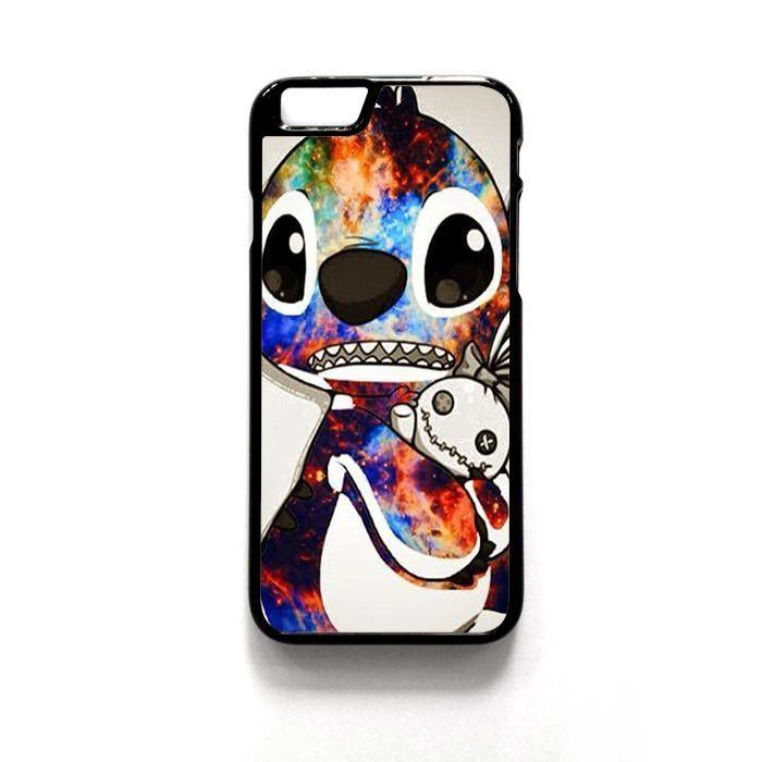 Stitch Disney Galaxy For Iphone 4/4S Iphone 5/5S/5C Iphone 6/6S/6S Plus/6 Plus Phone case ZG