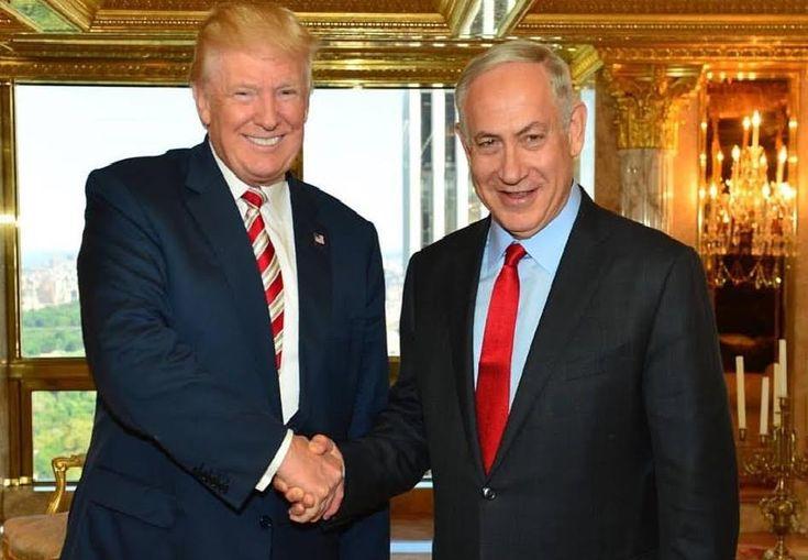 """Donald Trump invitó a Netanyahu a la Casa Blanca """"en la primera oportunidad"""" - http://diariojudio.com/noticias/donald-trump-invito-a-netanyahu-a-la-casa-blanca-en-la-primera-oportunidad/220178/"""