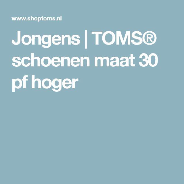 Jongens  | TOMS® schoenen maat 30 pf hoger