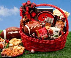 Football Fanatic Sports Gift Basket - Lg
