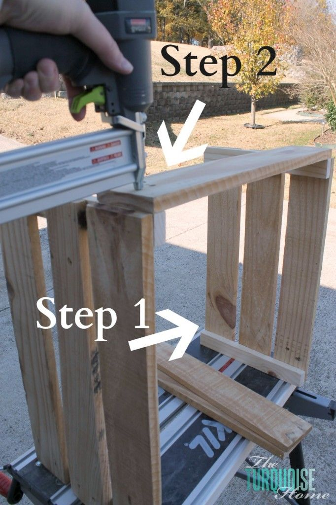 How to Build a Crate from Pallets. Really good insructions