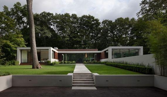 vorgarten ideen f rs vorgarten gestalten ao ar livre pinterest gr ser minimalistisches. Black Bedroom Furniture Sets. Home Design Ideas