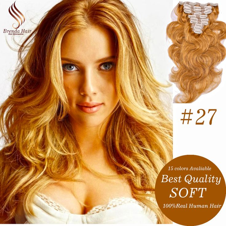 Find More Human Hair Extensions Information about Clip in human hair extensions golden blonde #27 clip in hair extensions for black women Brazilian virgin human hair Clip Ins 7PC,High Quality clip shoe,China clip wanted Suppliers, Cheap clip smd from Brenda Hair on Aliexpress.com