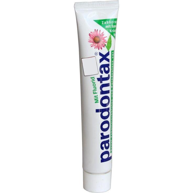 PARODONTAX mit Fluorid Zahnpasta:   Packungsinhalt: 75 ml Zahnpasta PZN: 04791866 Hersteller: GlaxoSmithKline Consumer Healthcare Preis:…