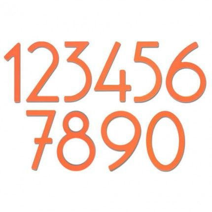 Mango Contemporary House Numbers