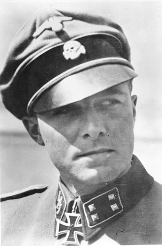 Joachim Peiper. Standartenführer. Knights Cross of the Iron Cross with Oak Leaves and Swords. 1st SS Division Leibstandarte SS Adolf Hitler by GLORY. The largest archive of german WWII images, via Flickr
