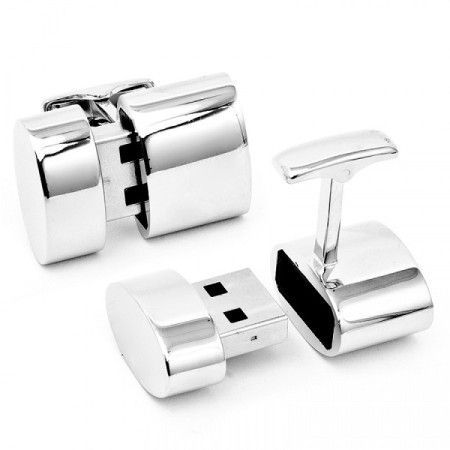 These cufflinks are not only fashionable but also functional. With these cufflinks, you can give you and everyone around you wireless internet connection.